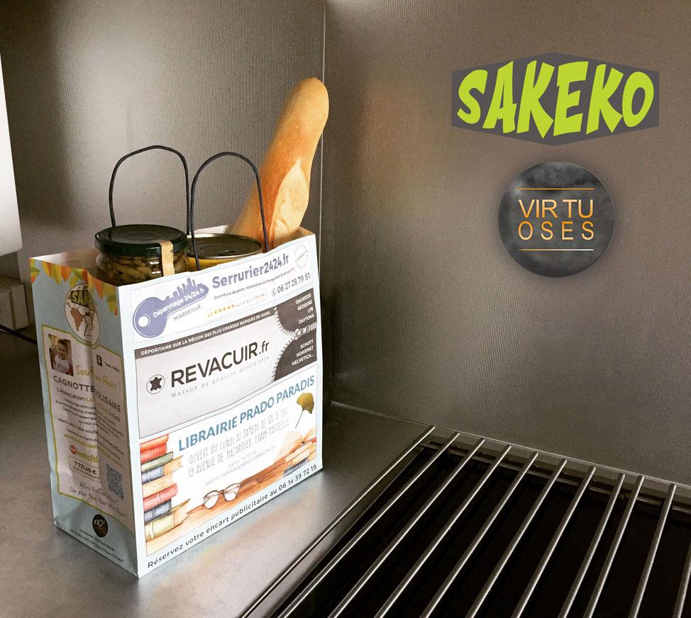Régie publicitaire : Sakeko vous présente son sac éco-responsable !